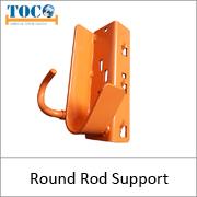 Round Rod Support