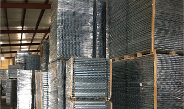 Large Wire Mesh Decking – High volumes exported Monthly